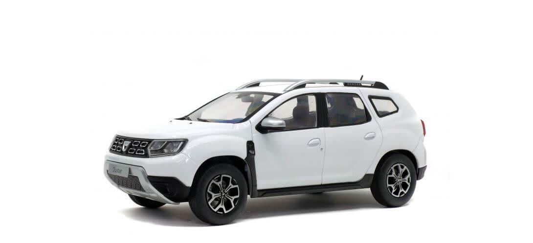 DACIA DUSTER MK2 BLANC 2018   CARSNGO.FR