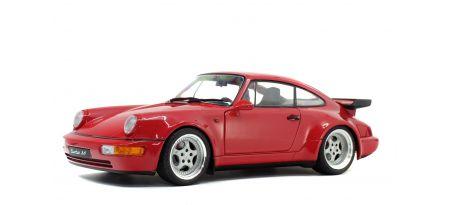 PORSCHE 911 (964) TURBO 3.6 – ROUGE INDIEN – 1990   CARSNGO.FR