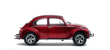 VOLKSWAGEN BEETLE 1303 – METALLIC RED – 1974 | CARSNGO.FR