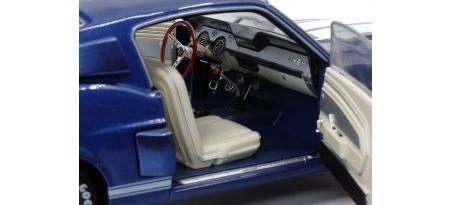 SHELBY GT500 – NIGHTMIST BLUE & LIGHT GREY STRIPES – 1967 | CARSNGO.FR