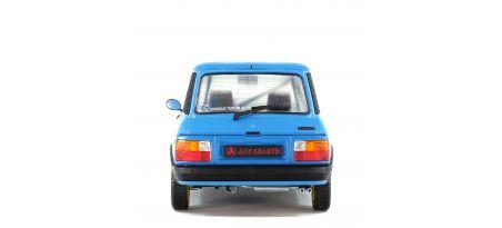AUTOBIANCHI A112 MK.5 ABARTH – BLEU  – CHARDONNET RALLY SET – 1980 | CARSNGO.FR