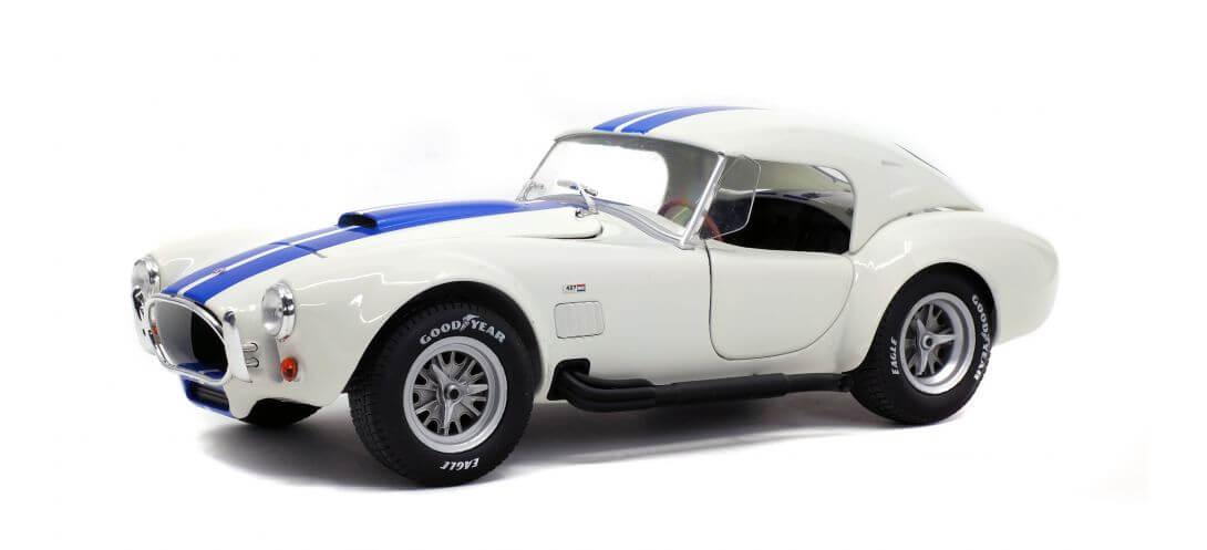 SHELBY COBRA 427 S/C – WIMBLEDON WHITE – 1965   CARSNGO.FR