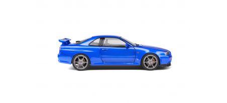 NISSAN SKYLINE GT-R (R34) – BAYSIDE BLUE – 1999 | CARSNGO.FR