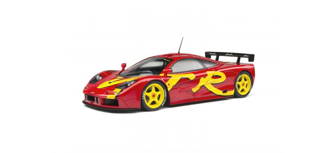 MCLAREN F1 GTR SHORT TAIL – LAUNCH LIVERY – 1996 | CARSNGO.FR