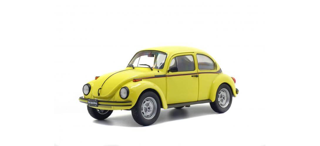 VW BEETLE SPORT – BRILLANT GELB – 1974 | CARSNGO.FR