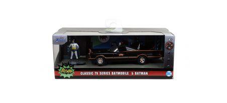 1966 CLASSIC BATMOBILE-FREE ROLLING FIGURINE   CARSNGO.FR