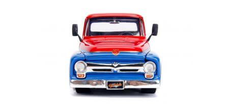 1956 FORD F100 W/ SUPER GIRL FIGURINE | CARSNGO.FR