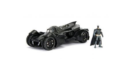 ARKHAM KNIGHT BATMOBILE W/BATMAN FIGURINE | CARSNGO.FR